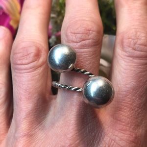 Vintage native handmade sterling silver ring